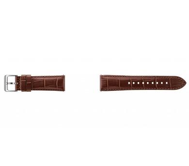 Samsung kožený pro Gear S3 Aligator - hnědý + DOPRAVA ZDARMA