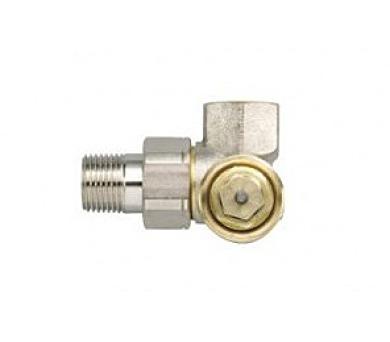 Zehnder - Rohový ventil řady AV6 niklovaný - 832100