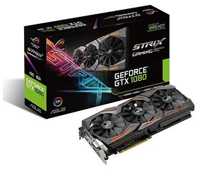 ASUS STRIX-GTX1080-O8G-GAMING