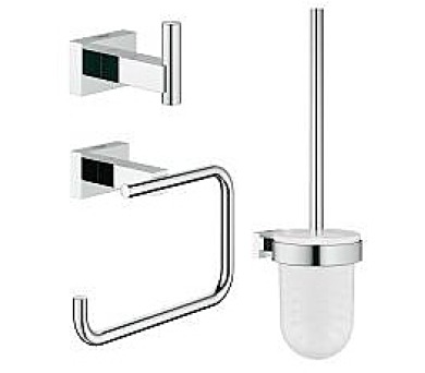 Grohe Essentials Cube - sada doplňků pro toaletu 3 v 1 (40757001) + DOPRAVA ZDARMA