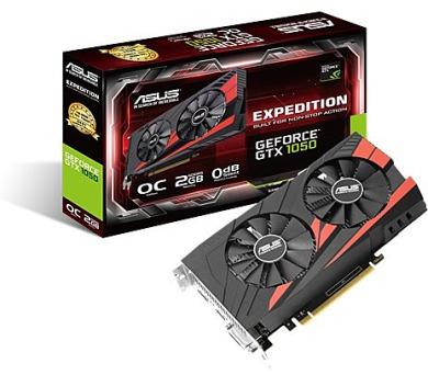 ASUS EX-GTX1050-O2G + podložka za 1CZK