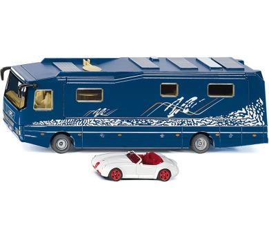 SIKU Super - Obytný karavan s autem 1:50 + DOPRAVA ZDARMA