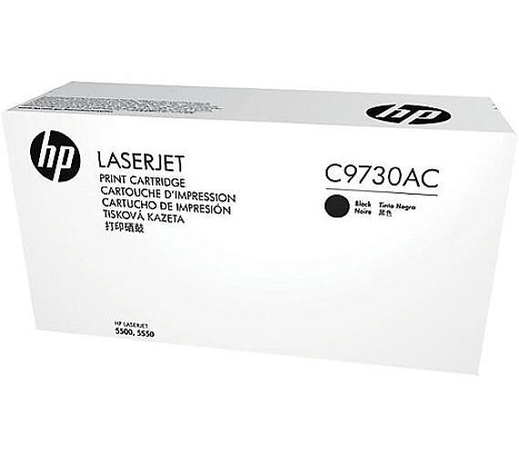 HP 645A - černý Contract Toner