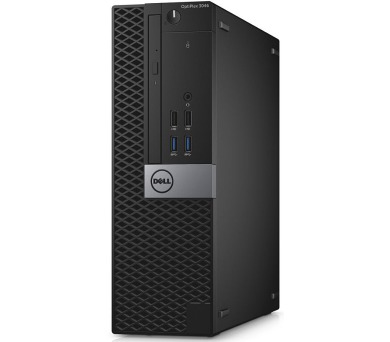 Dell PC Optiplex 3046S i3-6100/4GB/128GB SSD/DP/HDMI/DVD-RW/W10P/3RNBD/Černý