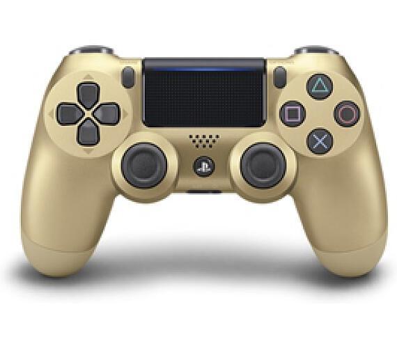 Sony Dual Shock 4 pro PS4 v2 - zlatý + DOPRAVA ZDARMA