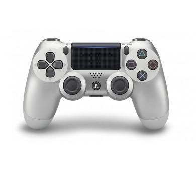 Sony Dual Shock 4 pro PS4 v2 - stříbrný
