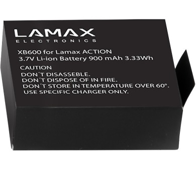 LAMAX ACTION battery pro LAMAX ACTION X