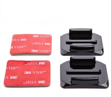 MadMan Zaoblené nalepovací držáky 3M pro GoPro (MDMADHESIVECURVED)