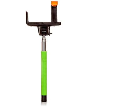 MadMan Selfie tyč DELUXE BT 100 cm zelená (monopod) (MDMSELF100SF03GREEN)