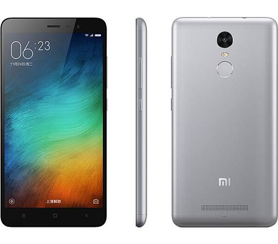 Xiaomi Redmi Note 3 DualSIM gsm tel. Grey 3+32GB + DOPRAVA ZDARMA