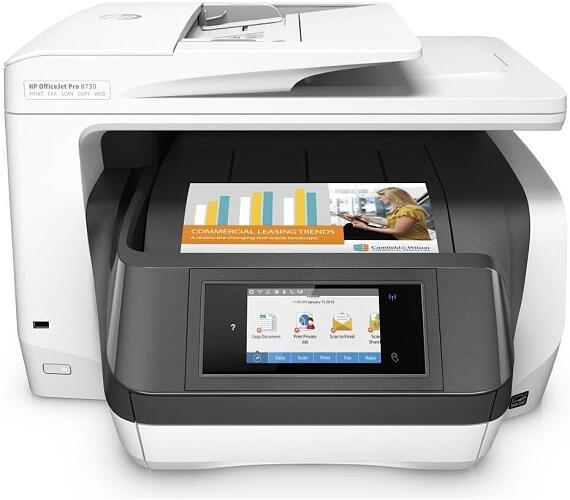 Tiskárna multifunkční HP Officejet Pro 8730 A4 + DOPRAVA ZDARMA