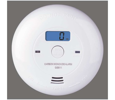 Detektor oxidu uhelnatého v místnosti P56401 + DOPRAVA ZDARMA