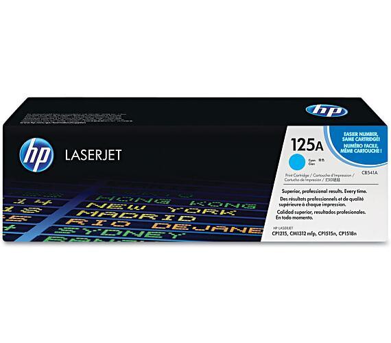 HP tisková kazeta azurová