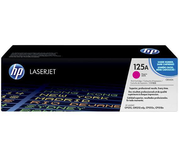 HP tisková kazeta purpurová