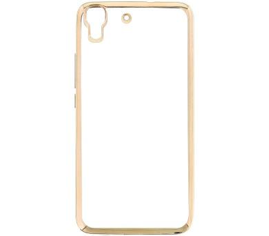 Kisswill TPU Pouzdro Transparent/Gold