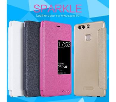 Nillkin Sparkle S-View Pouzdro White pro Huawei Ascend P9
