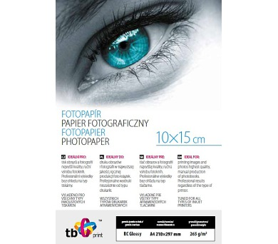 TB Photo Paper Glossy 265g A6 25 ks