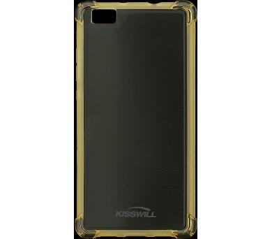 Kisswill Shock TPU Pouzdro Gold pro Huawei P8 Lite