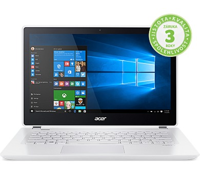 Acer Aspire V13 13,3/i5-6267U/8G/256SSD/W10 bílý + DOPRAVA ZDARMA