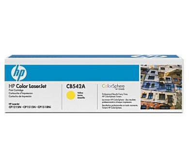 HP tisková kazeta žlutá