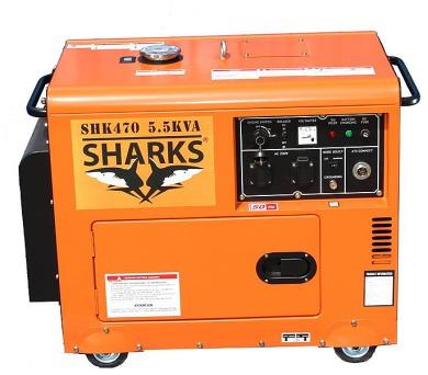 Sharks D6700LES Diesel Silent + DOPRAVA ZDARMA