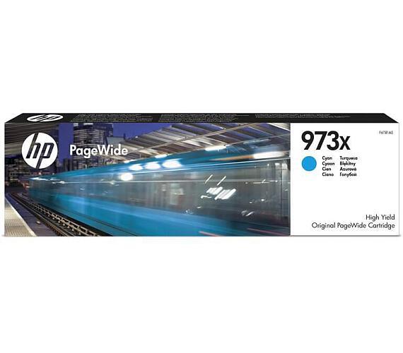 HP 973X azurová inkoustová kazeta + DOPRAVA ZDARMA