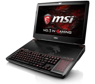 "MSI NB GT83VR 6RE-042CZ Titan SLI,18.4"" FHD AG PLS,i7-6820HK,32GB,2xGTX1070 8GB,256GB SSD+1TB 7200,BDW,WF+BT4.0,W10"