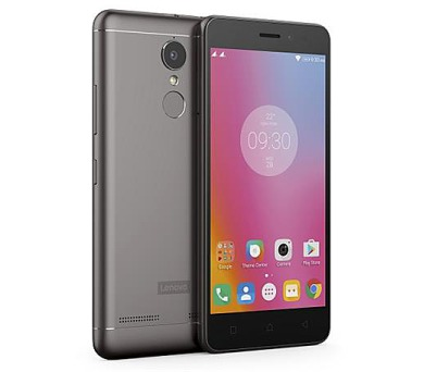 Lenovo Vibe K6 Power DS gsm tel. Dark Grey