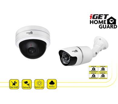 iGET HGDCK6058 - 2ks makety CCTV kamer