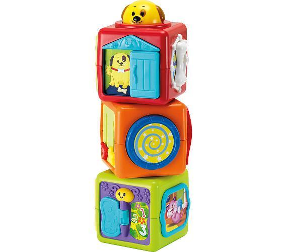 BBT 3010 Tři kostky zvířátka Buddy toys