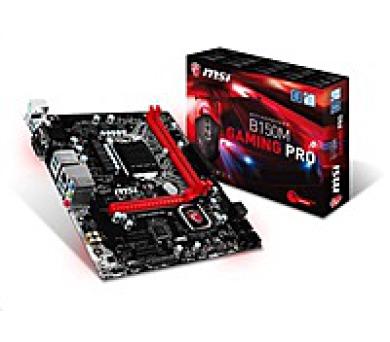 MSI MB Sc LGA1151 B150M GAMING PRO