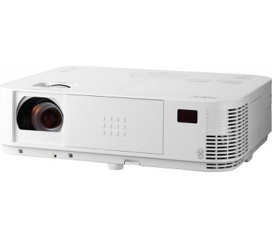 NEC Projektor DLP M362X (1024x768,3600ANSI,10000:1,x 1.7 zoom) 8,000h lamp/filter,HDMI,LAN,Optional WLAN