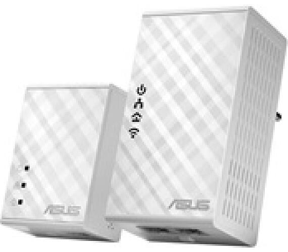 ASUS PL-N12 1x Powerline Wireless N300 Extender AV500 + 1x Powerline Adapter AV500 (90IG01V0-BO2100)