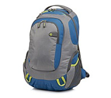 "HP Outdoor Sport grey/blue Backpack - 15,6"" - BAG + DOPRAVA ZDARMA"