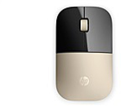 HP Z3700 Wireless Mouse - Gold - MOUSE (X7Q43AA#ABB)