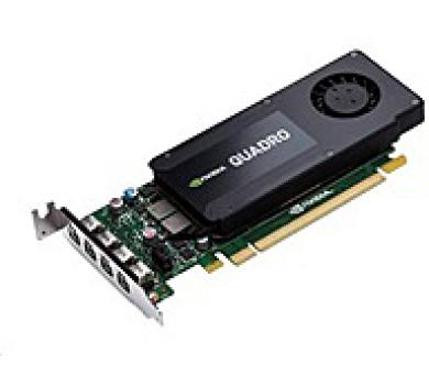 NVIDIA Quadro K1200 4GB GDDR5 PCIe x16 Low Profile Graphics Card + DOPRAVA ZDARMA
