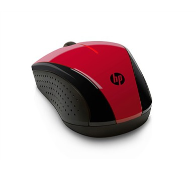 HP X3000 Red Wireless Mouse - MOUSE (N4G65AA#ABB)