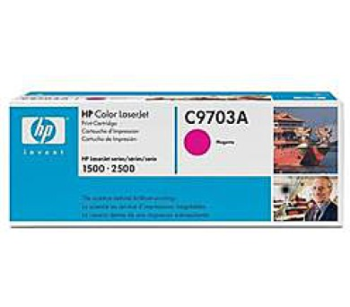 HP Toner Cart Magenta pro HP CLJ 1500 + DOPRAVA ZDARMA