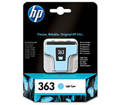 HP Ink Cart Light Cyan No. 363 pro PS 8250