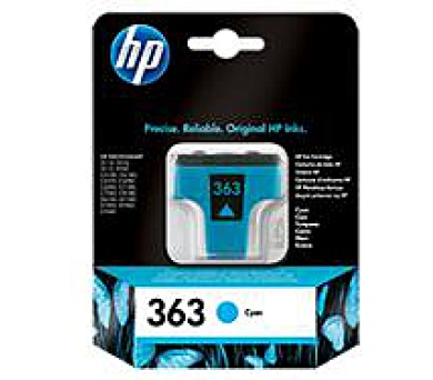 HP Ink Cart Cyan No. 363 pro PS 8250