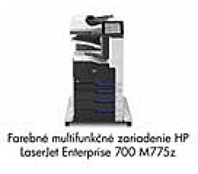 HP LJ Enterprise 700 color MFP M775Z A3 + DOPRAVA ZDARMA