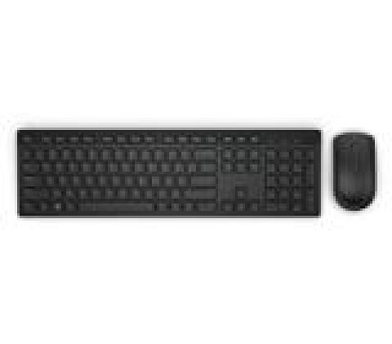 Dell Wireless Keyboard and Mouse-KM636 - Slovakian (QWERTZ) - Black (580-ADGE)