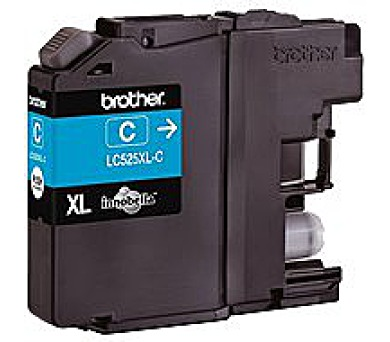 Brother LC-525XLC (inkoust cyan,1300 str. (LC525XLC)