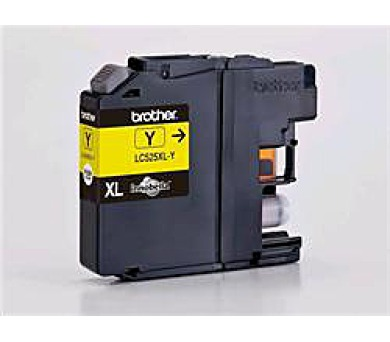 Brother LC-525XLY (inkoust yellow,1300 str.