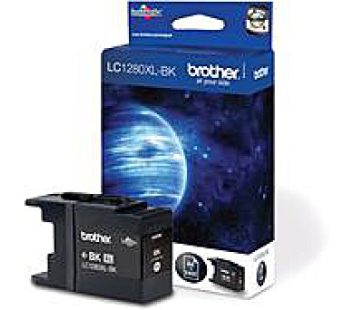 Brother LC-1280XLBK (inkoust black,2400 str.)