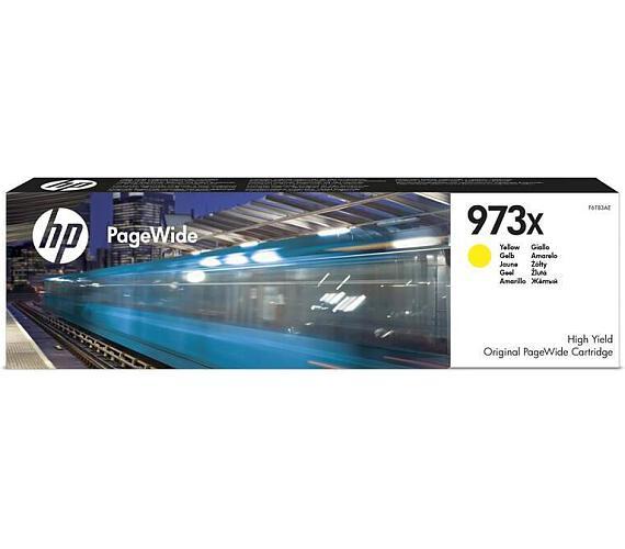 HP 973X žlutá inkoustová kazeta + DOPRAVA ZDARMA