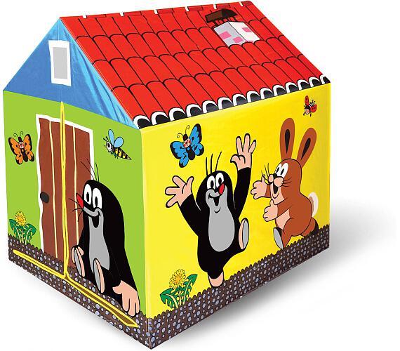 Domek/stan dětský Krtek 95x72x102cm polyester v krabici + DOPRAVA ZDARMA