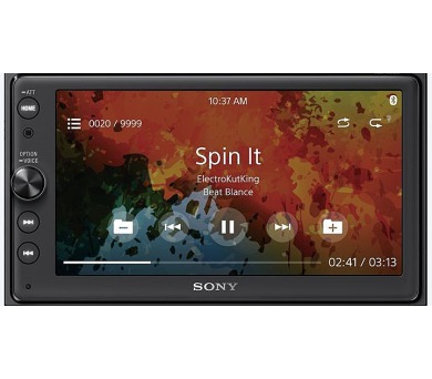 Sony autorádio XAV-AX100 dot. display