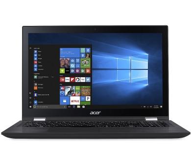 Acer Spin 3 15,6/i3-7100U/4G/256SSD/W10 černý