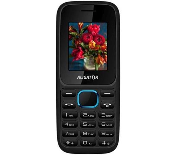 Mobilní telefon Aligator D200 Dual Black blue